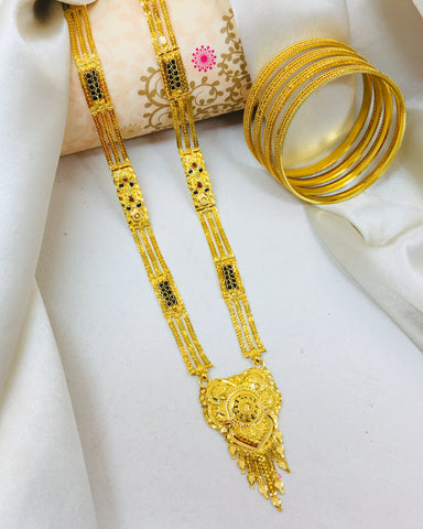 EXCLUSIVE DESIGNER MANGALSUTRA WITH FREE BANGLES