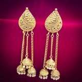 LEAF DESIGN BAHUBALI EARRINGS