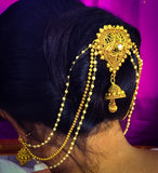 DESIGNER JUDAPIN WITH JHUMKI EARRING