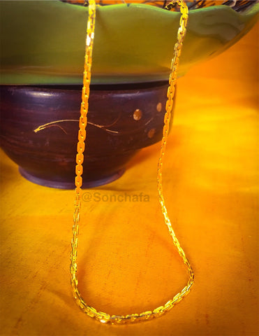 GOLD PLATED LONG CHAIN