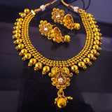 GOLDEN BEADS NECKLACE