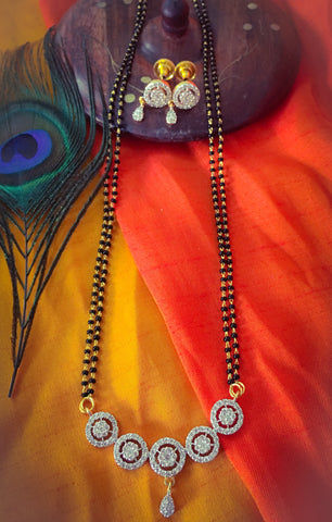 GEMSTONES ADORNED MANGALSUTRA