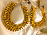 GOLDEN BEADS ANTIQUE NECKLACE