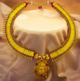 DROPLET DESIGN MALHAR NECKLACE