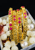 UNIQUE DESIGNER GOLD BANGLES