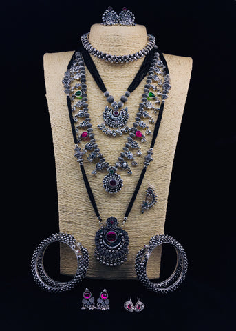 ALLURING OXIDISED COMBO COLLECTION