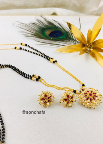 VERY CLASSY PEARL MANGALSUTRA
