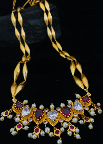 BORMALA WITH TANMANI NECKLACE