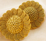 ROYAL GOLDEN BEADS STUDS