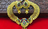 PEACOCK DESIGNER TRADITIONAL NECKLACE