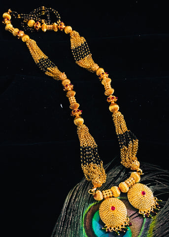 MULTI LAYER TEMPLE MANGALSUTRA
