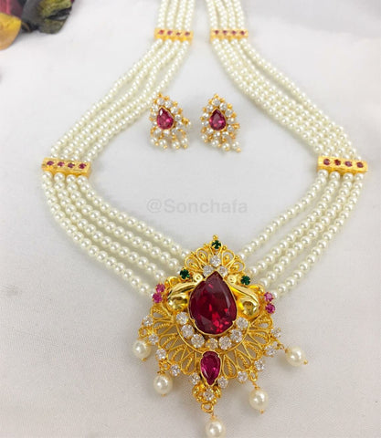 MAHARASHTRIAN MOTI NECKLACE