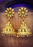 GOLD FINISH JHUMKI