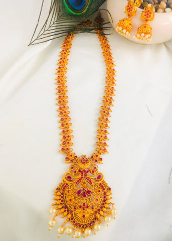 TEMPLE FLORAL NECKLACE