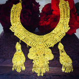 ROYAL DESIGNER 1 GRAM GOLD PLATED NECKLACE