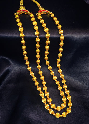 2 LAYER MALHAR NECKLACE