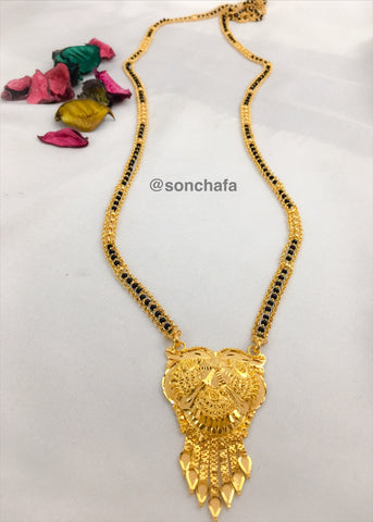 ADORABLE GOLD MANGALSUTRA