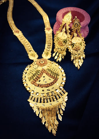 ROYAL DESIGNER LONG NECKLACE