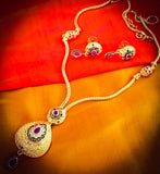DROPLET GOLD FINISH MANGALSUTRA