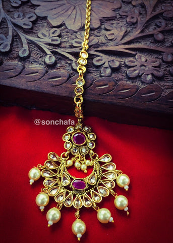 FLORET DESIGN ANTIQUE BINDI