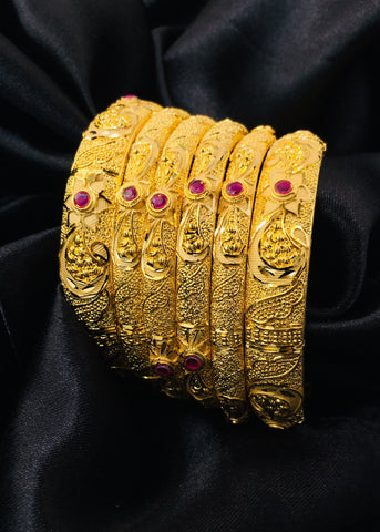 STUNNING GOLD PLATED BANGLES