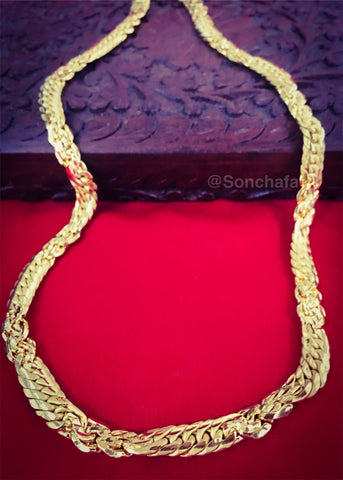 DAZZLING GOLD PLATED CHAIN