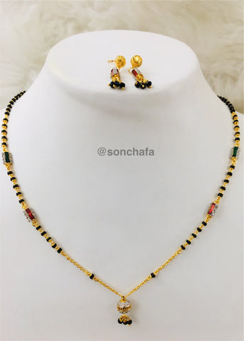 a120aeffac BEAUTIFUL DESIGNER MANGALSUTRA WITH TOPS