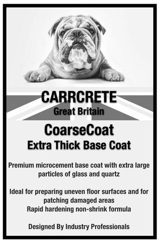 Extra Thick Base Coat Microcement