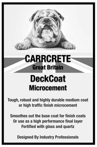 MicroFloor DeckCoat High Traffic Microcement