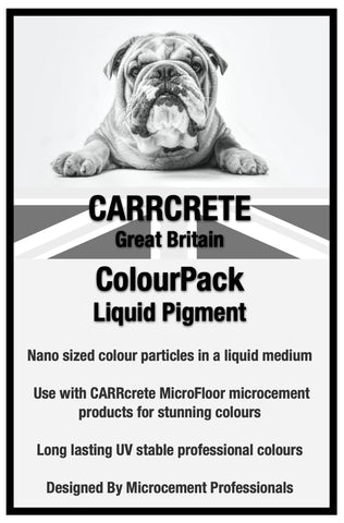 ColourPack - Liquid microcement colour pigment