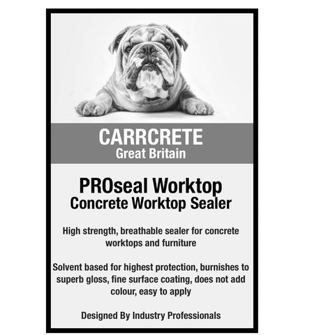 CARRcrete PROseal Impregnating Sealer For Concrete Worktops