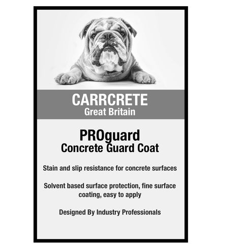 PROguard Topical Concrete Sealer