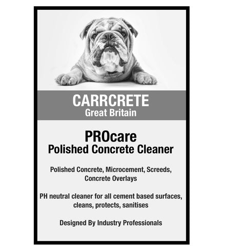 PROcare Concrete Cleaner Maintainer