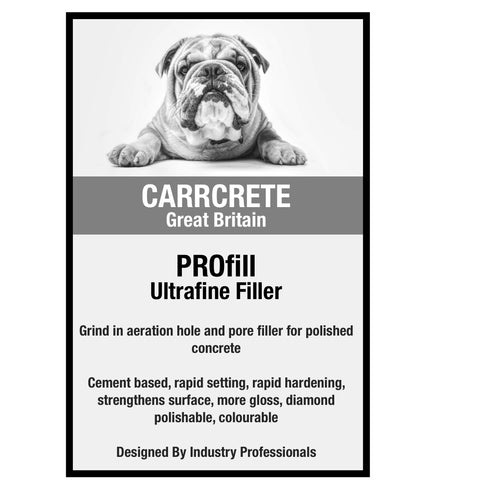 PROfill - Pore Filler For Polished Concrete