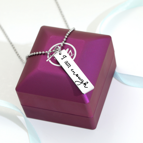 'I Am Enough' Necklace