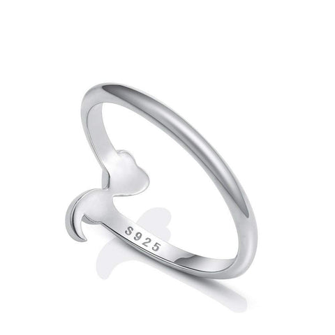 Open Semicolon Awareness Ring