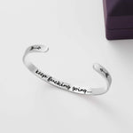 'Keep Fucking Going' Bracelet