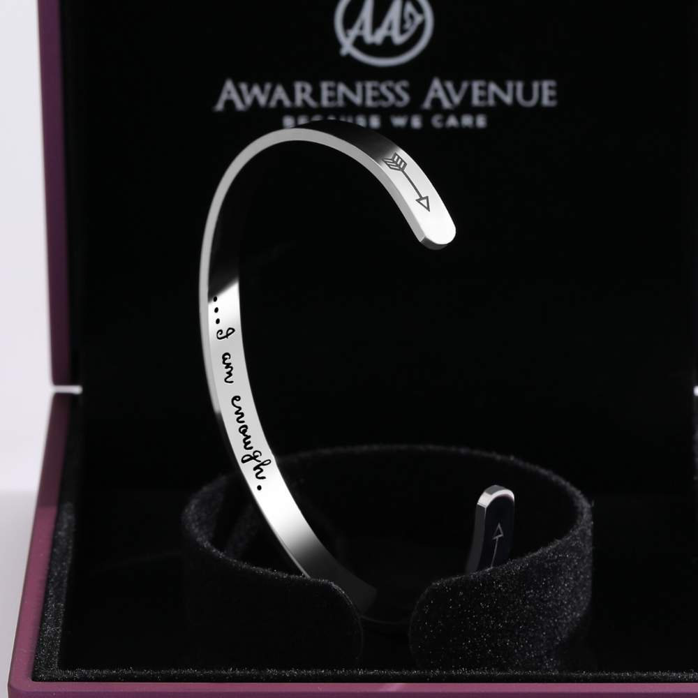 Awareness Avenue 'I Am Enough' Bracelet-Awareness Avenue