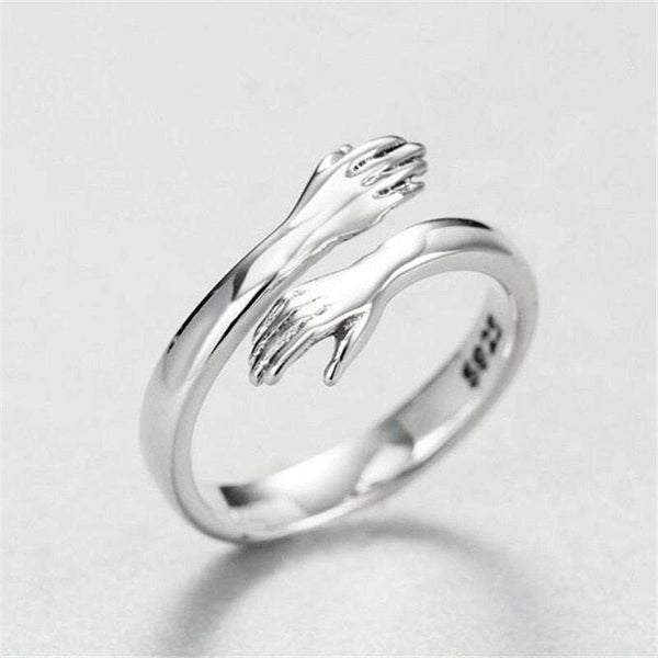 Embrace - 925 Sterling Silver Ring