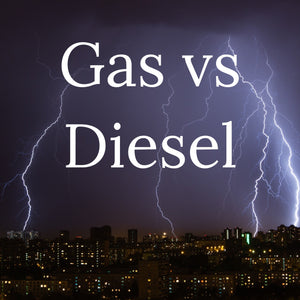What is better, gas or diesel powered generators?