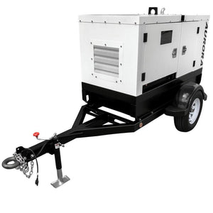 Towable Generators - Aurora Diesel Generator mounted on a trailer.