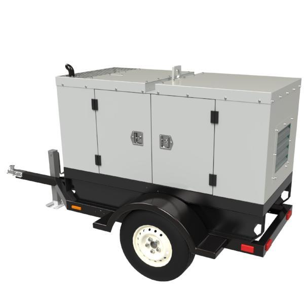 13 kW Towable Mobile Diesel Generator