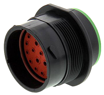 HDP24-24-21PN - HDP20 - Receptacle, 24 Shell, 21 Way, N Seal