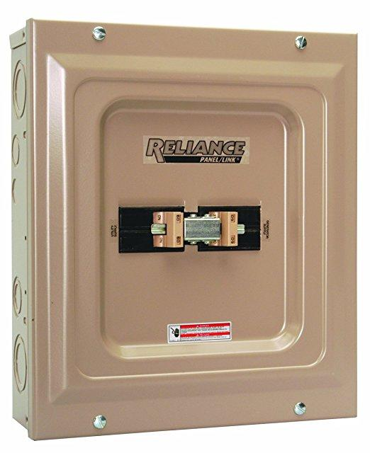 Manual Transfer Switches from Reliance Controls 8-24kW NEMA 1 & NEMA 3