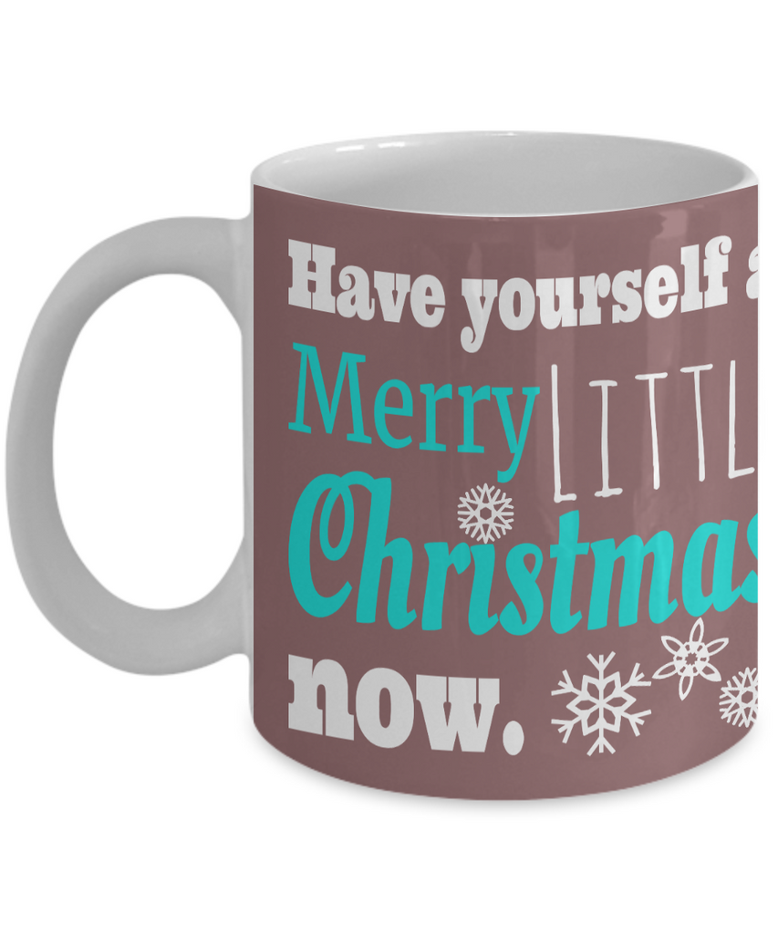 Christmas mugs have yourself a merry little christmas now mauve christmas mugs have yourself a merry little christmas now mauve festive holiday solutioingenieria Choice Image