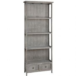 Bookcase With 2 Storage Drawers