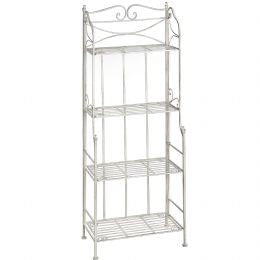 iron shelf unit