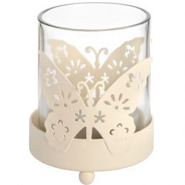 Butterfly tea light holder 1