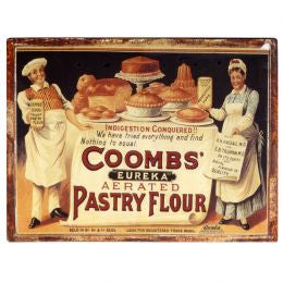 Coombs' Flour Plaque