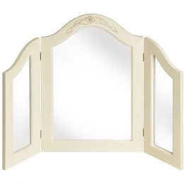 Country Style 3 Way Dressing Table Mirror
